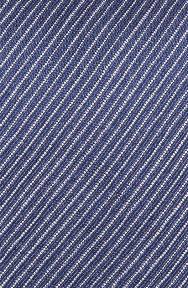 Alternate Image 3  - Z Zegna Stripe Woven Silk Tie