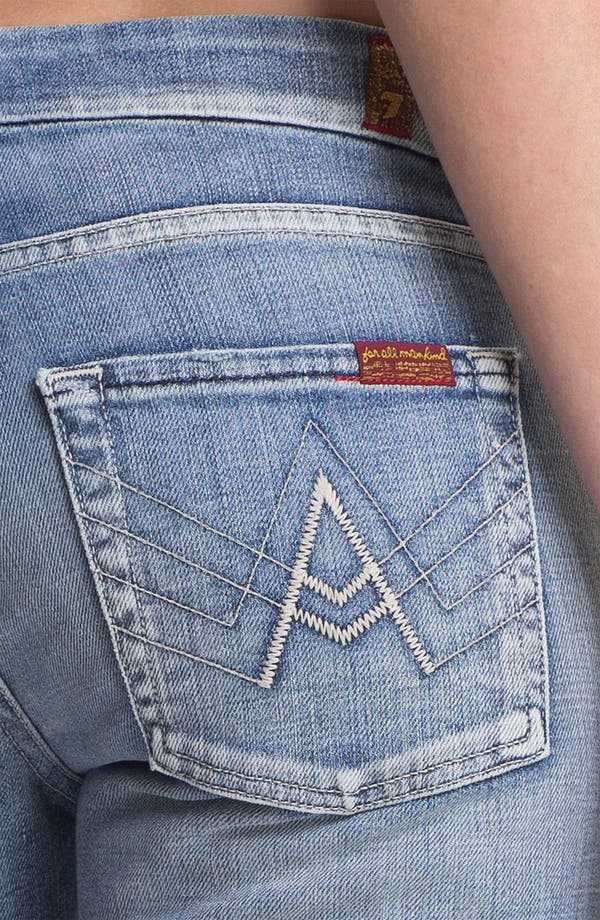 Alternate Image 3  - 7 For All Mankind® 'A-Pocket' Bootcut Stretch Jeans (Pure Light Blue)