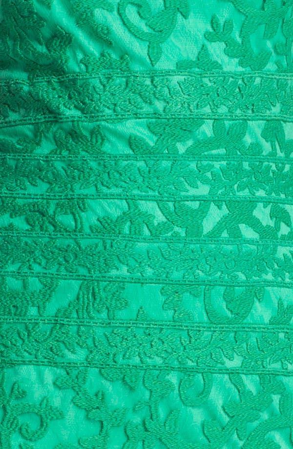 Alternate Image 3  - Tadashi Shoji Embroidered Lace Sheath Dress