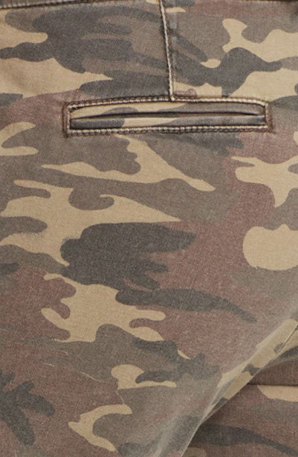 Alternate Image 3  - KUT from the Kloth 'Gwen' Camo Crop Pants
