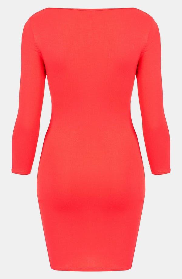 Alternate Image 2  - Topshop Body-Con Dress