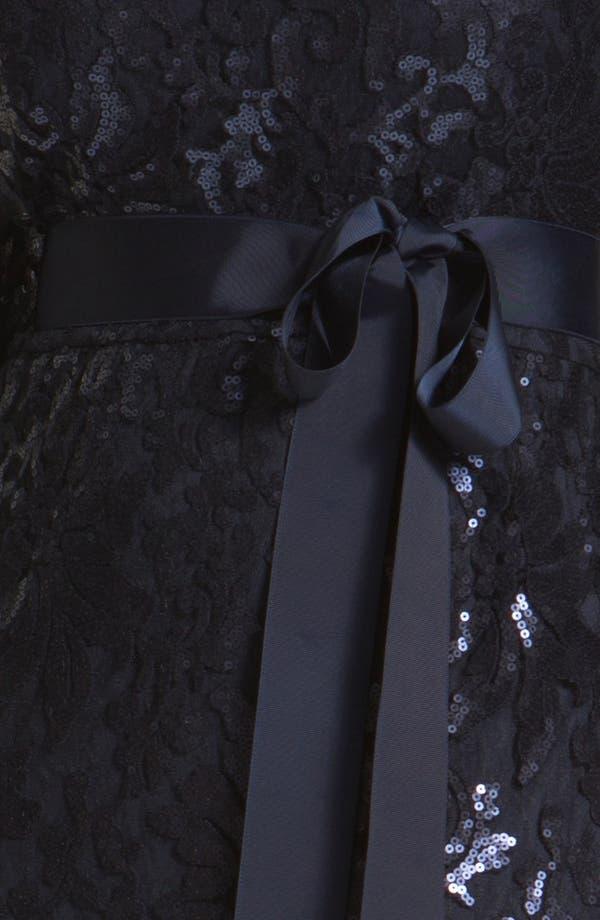 Alternate Image 3  - Tadashi Shoji Embellished Lace Column Gown (Plus Size) (Nordstrom Exclusive)