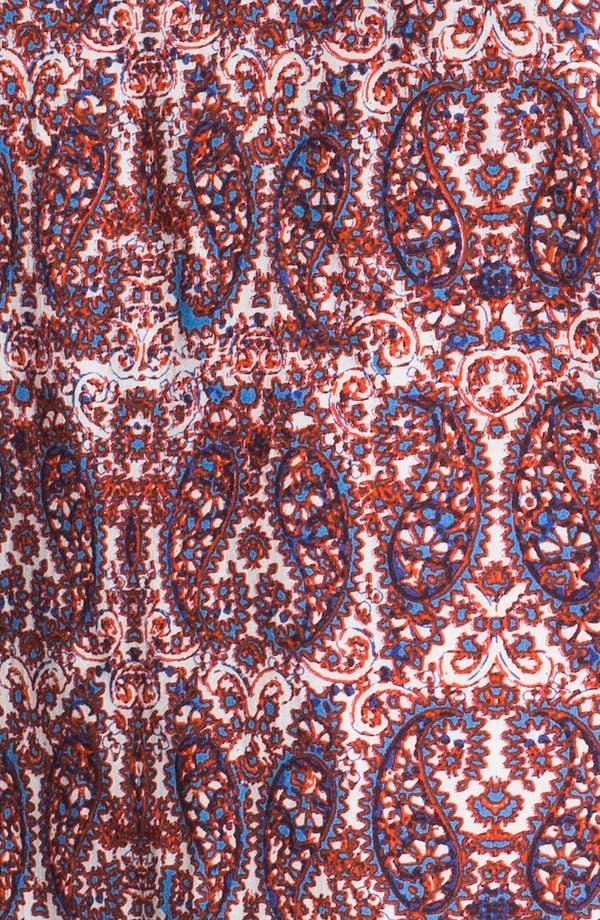 Alternate Image 3  - Ella Moss Twin Paisley Print Top