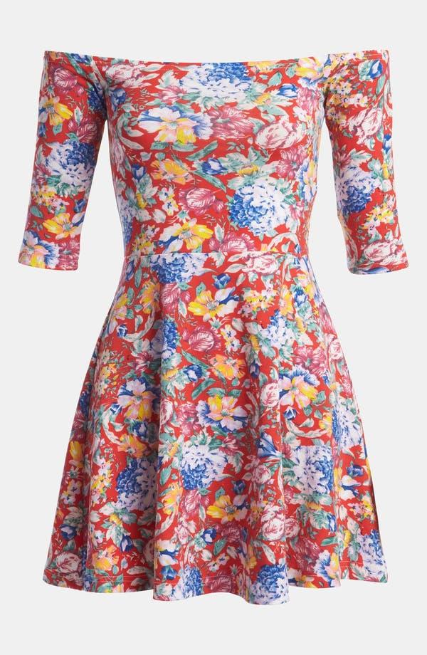 Alternate Image 1 Selected - MINKPINK 'Parklife' Skater Dress