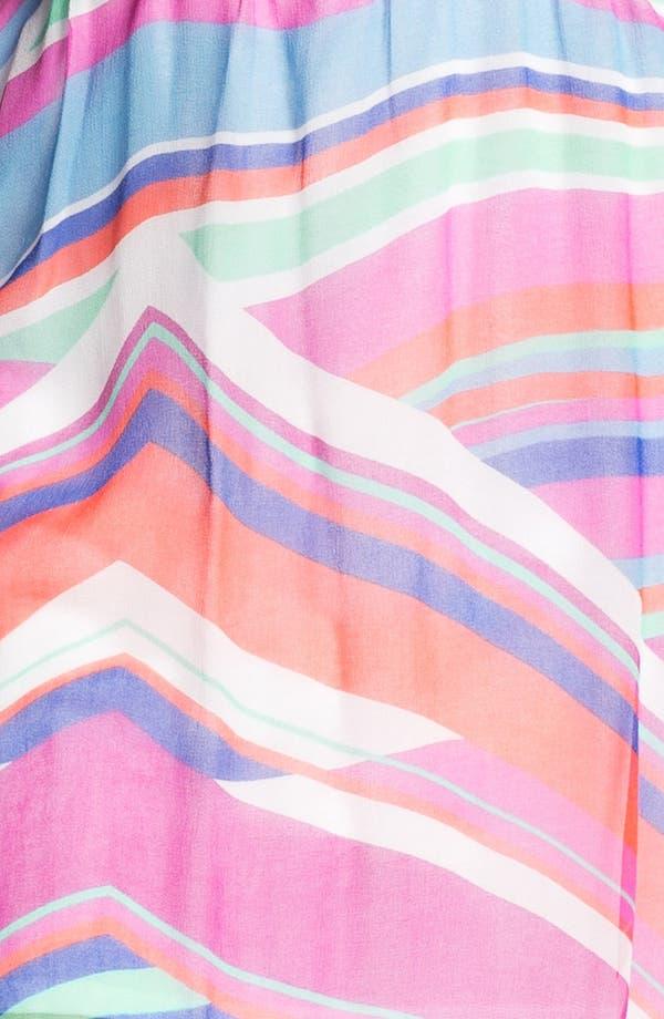 Alternate Image 3  - Ella Moss Print Chiffon Tank Dress