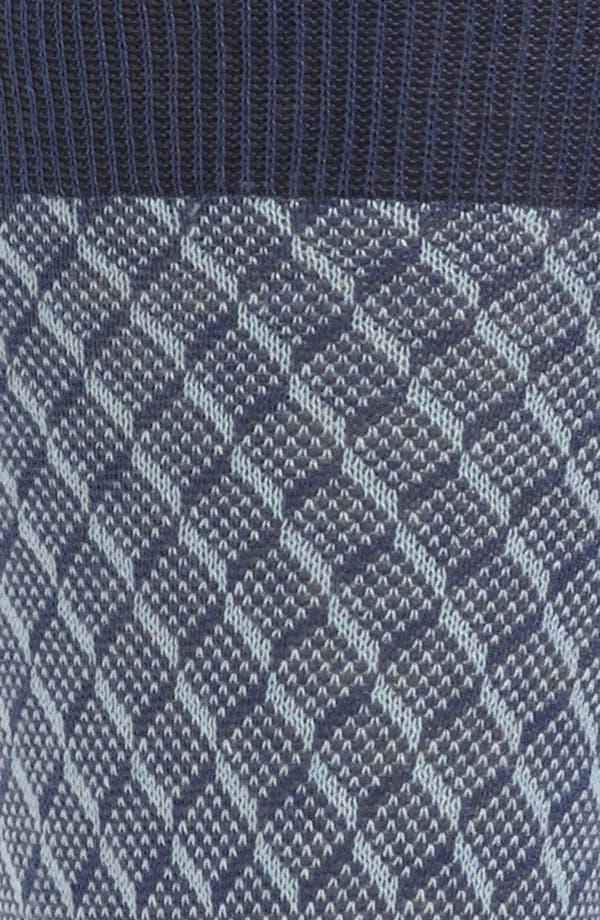 Alternate Image 2  - Canali Check Socks