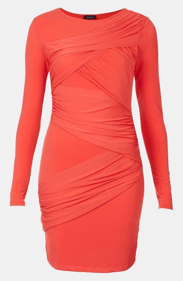 Alternate Image 3  - Topshop Wrap Panel Body-Con Dress