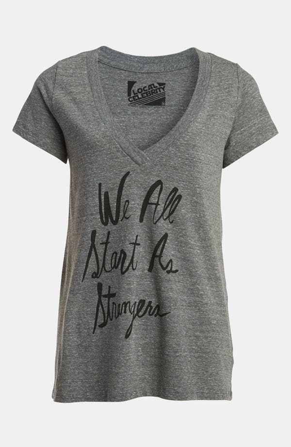 Main Image - Local Celebrity 'We All Start as Strangers' Tee