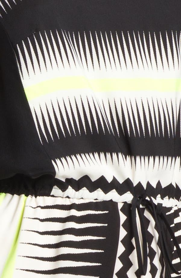 Alternate Image 3  - Vince Camuto Belted Print Shift Dress
