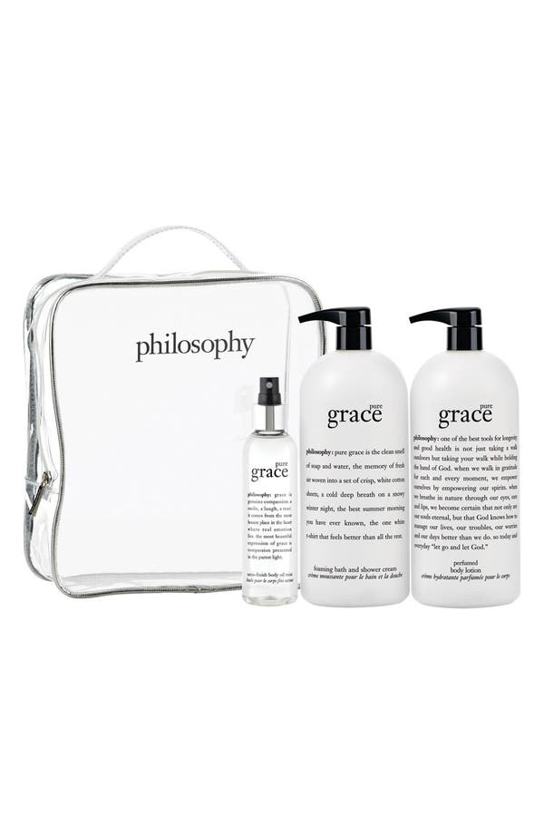 Alternate Image 1 Selected - philosophy 'pure grace' set (Nordstrom Exclusive) ($144 Value)