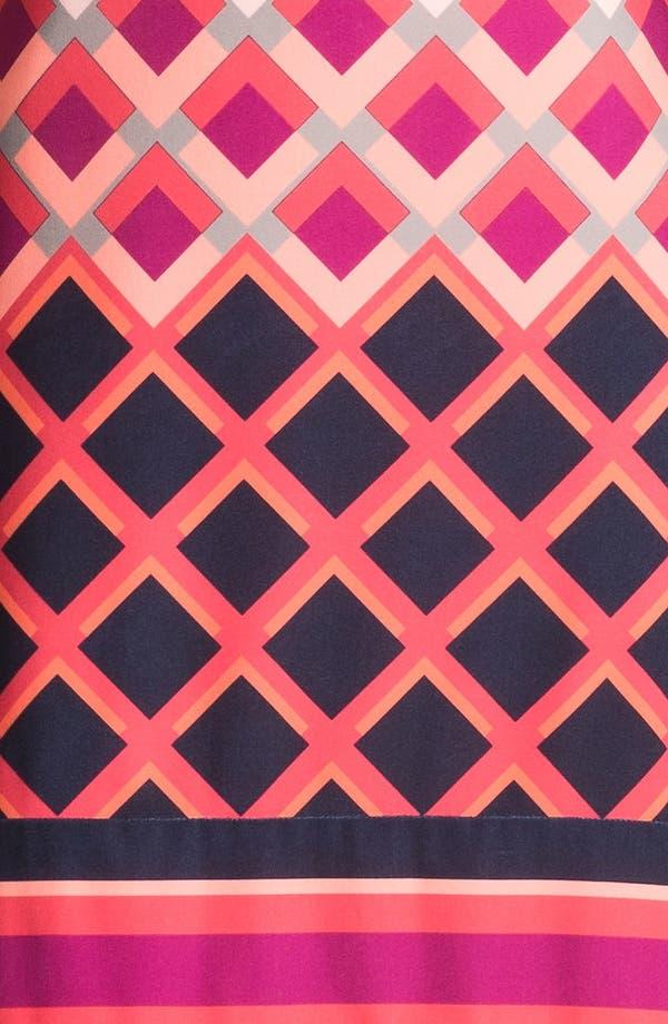 Alternate Image 3  - Eliza J Print Cap Sleeve Jersey Shift Dress