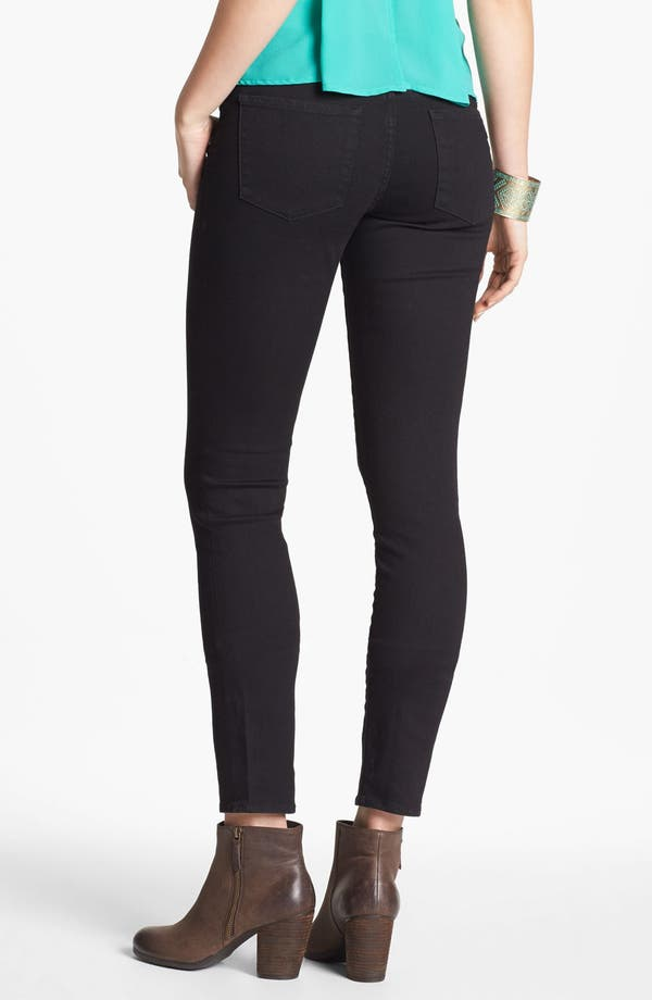 Alternate Image 2  - Articles of Society 'Mya' Skinny Ankle Jeans (Black) (Juniors)(Online Only)