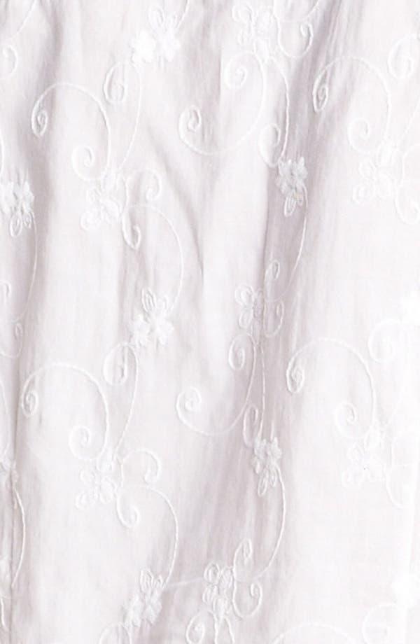 Alternate Image 3  - Eileen West 'Breaking Waves' Embroidered Pajamas