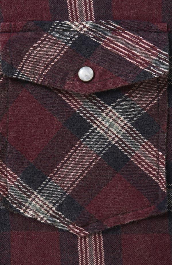 Alternate Image 3  - Topshop Check Shirt
