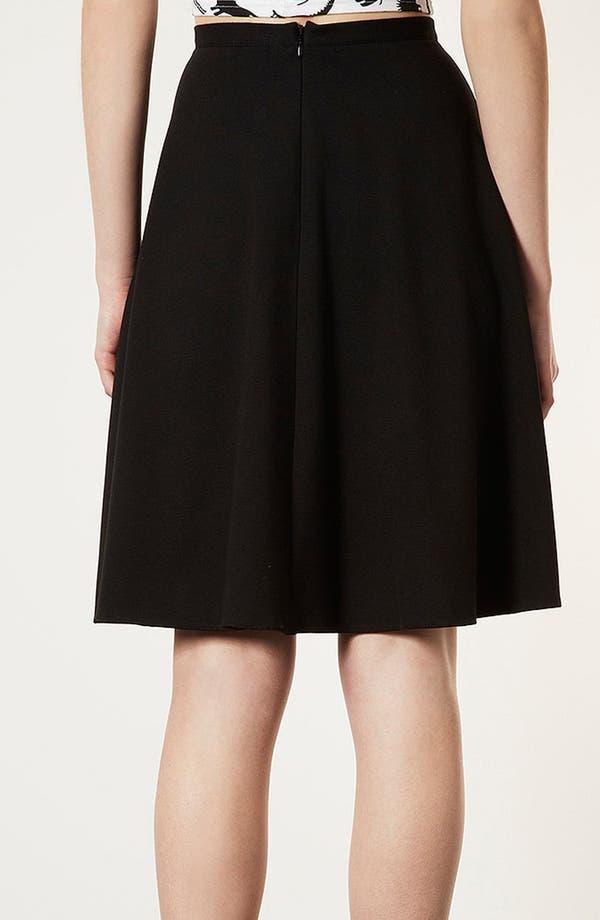 Alternate Image 2  - Topshop 'Milano' Skater Skirt