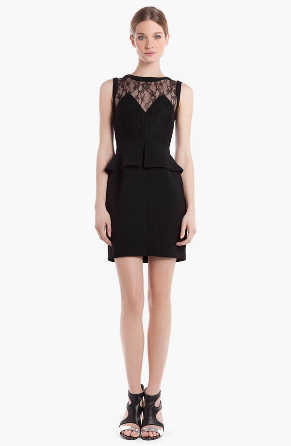 Alternate Image 1 Selected - sandro 'Respect' Peplum Dress