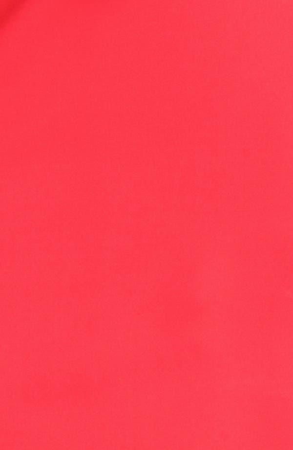 Alternate Image 3  - ABS by Allen Schwartz Leather Trim Peplum Dress (Plus Size)