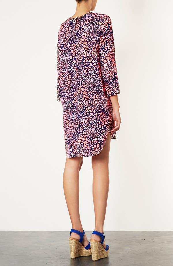 Alternate Image 2  - Topshop Animal Print Tunic Dress