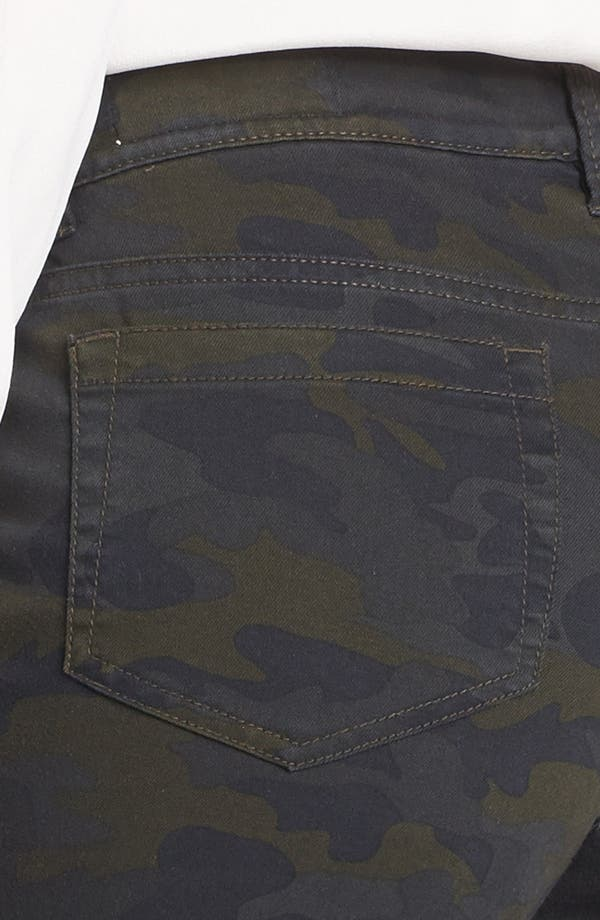 Alternate Image 3  - Two by Vince Camuto Camo Cuff Jeans (Dark Leaf)