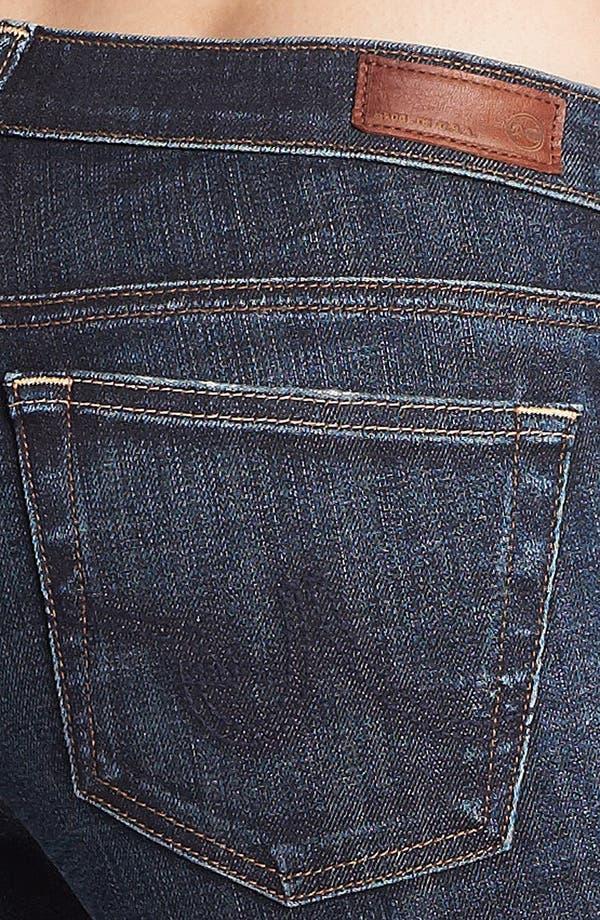 Alternate Image 3  - AG 'The Stilt' Cigarette Leg Stretch Jeans (4 Year Coastline)