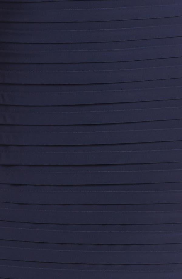 Alternate Image 3  - Xscape Lace Yoke Banded Sheath Dress (Plus Size)