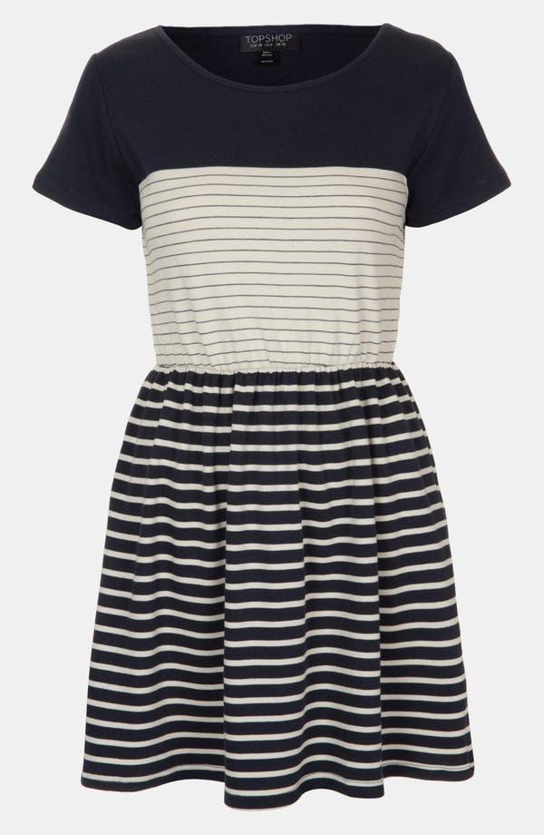 Main Image - Topshop Stripe Skater Dress