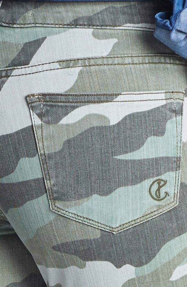 Alternate Image 3  - CJ by Cookie Johnson 'Believe' Camo Crop Stretch Jeans