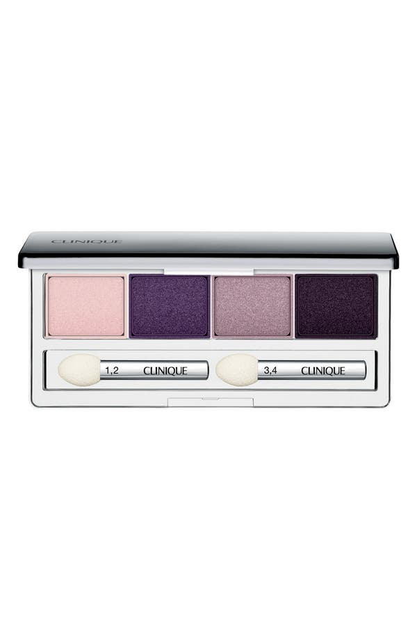 Main Image - Clinique 'All About Shadow' Eyeshadow Quad