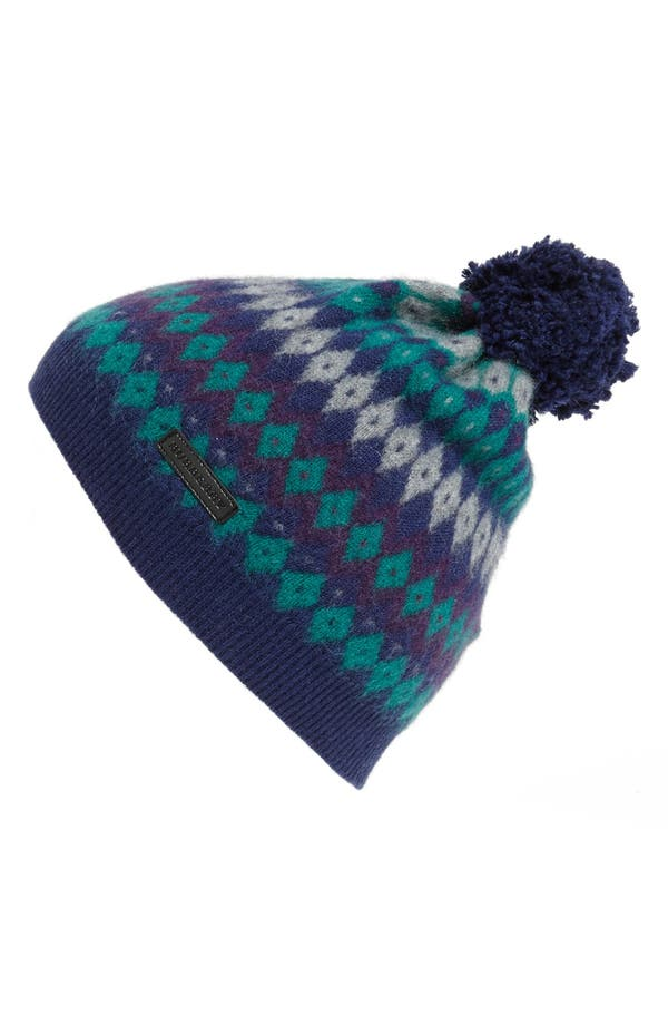Alternate Image 1 Selected - Burberry Cashmere Cap (Girls)