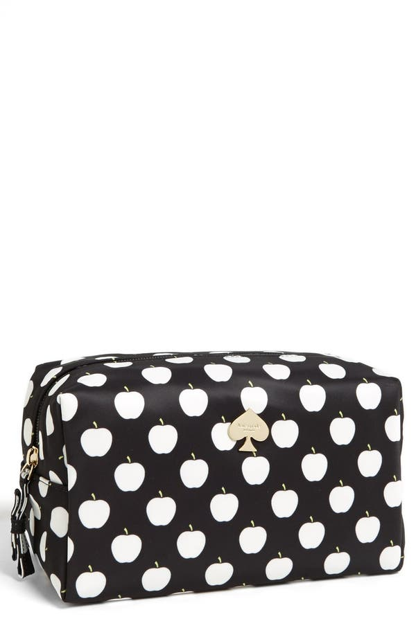 Main Image - kate spade new york 'flatiron - davie large' cosmetics bag