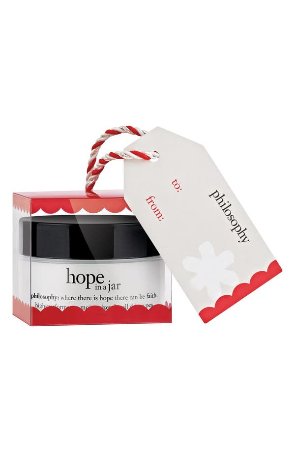 Main Image - philosophy 'hope in a jar' moisturizer holiday ornament
