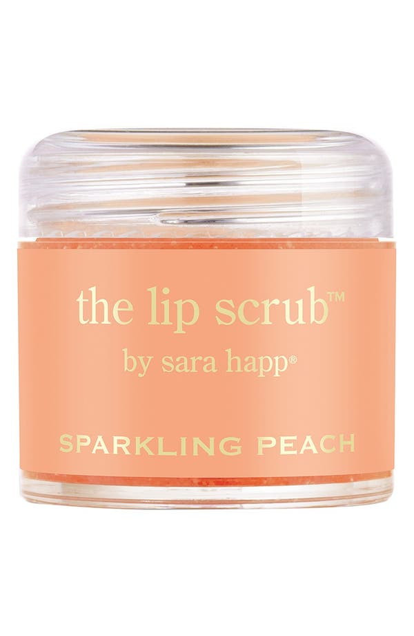 Main Image - sara happ® 'The Lip Scrub™ - Sparkling Peach' Lip Exfoliator (Limited Edition)