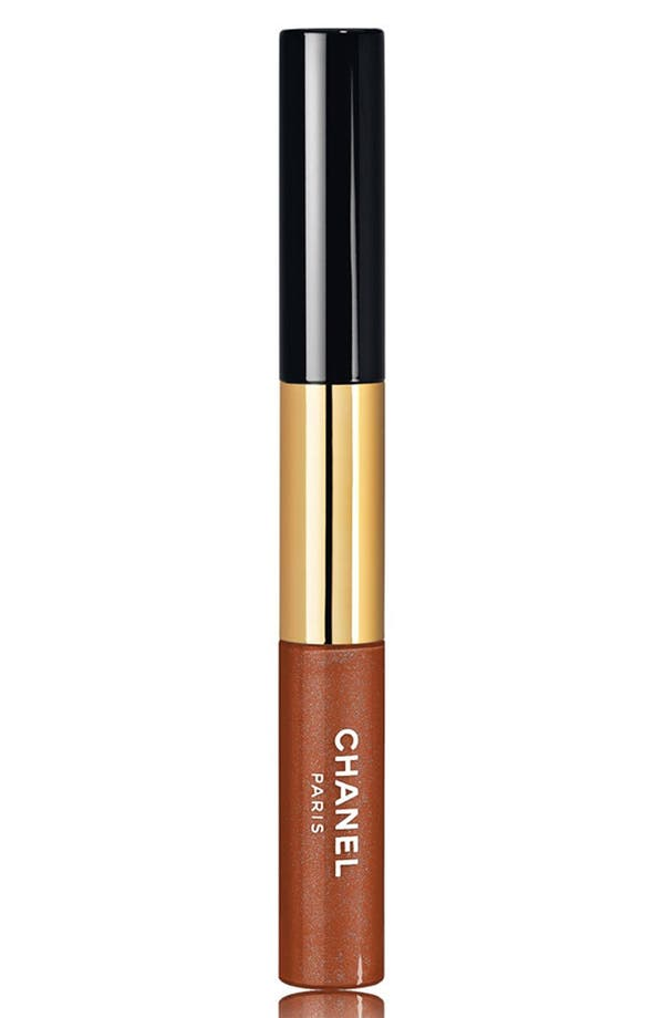 Main Image - CHANEL DAZZLING BRONZE ROUGE DOUBLE INTENSITÉ ULTRA WEAR LIP COLOUR