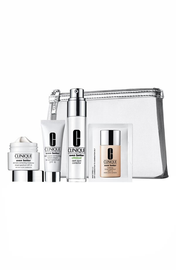 Alternate Image 1 Selected - Clinique Uneven Skin Tone Solutions Kit
