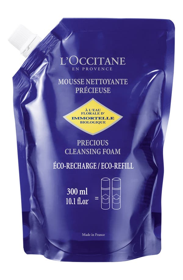 Alternate Image 1 Selected - L'Occitane 'Immortelle' Precious Cleansing Foam Eco-Refill