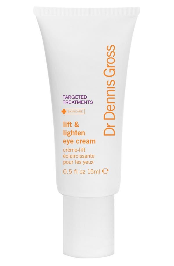 Main Image - Dr. Dennis Gross Skincare Lift & Lighten Eye Cream