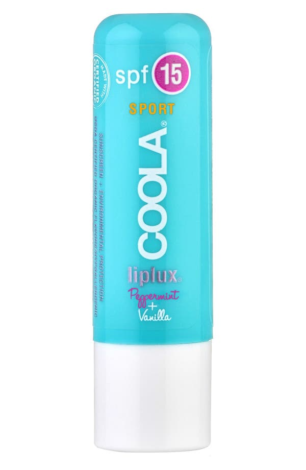 COOLA<sup>®</sup> Suncare Liplux Vanilla Peppermint Sport Lip Treatment SPF 15,                         Main,                         color, No Color