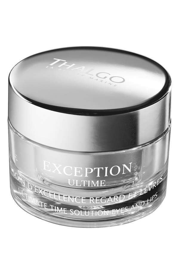 Main Image - Thalgo 'Exception Ultime' Ultimate Time Solution Eyes & Lips