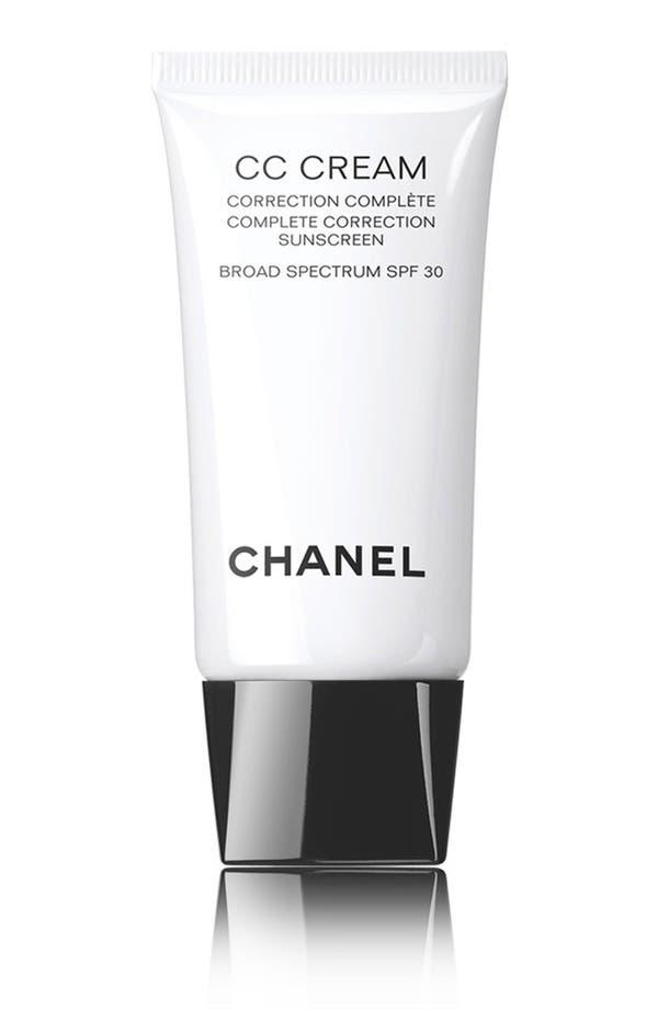 Chanel Cc Cream Complete Correction Sunscreen Broad Spectrum Spf 30 20 Beige Nordstrom