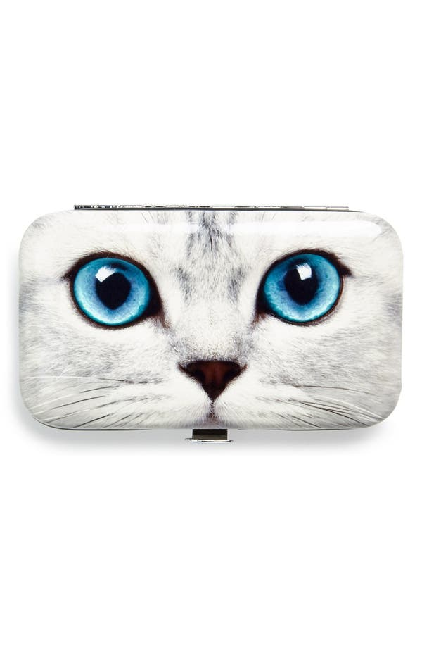 Alternate Image 1 Selected - Catseye London 'Silver Kitty' Nail Care Kit