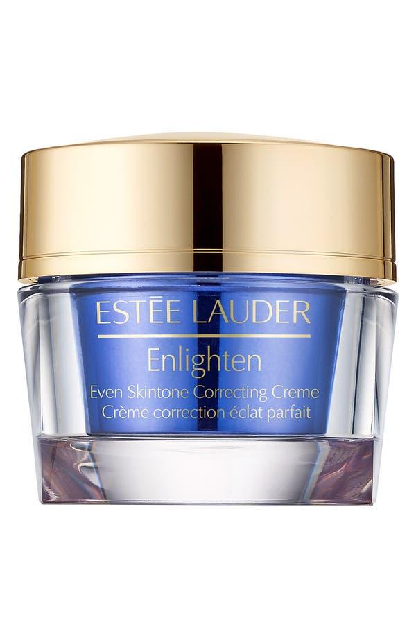 Main Image - Estée Lauder Enlighten Even Skintone Correcting Crème