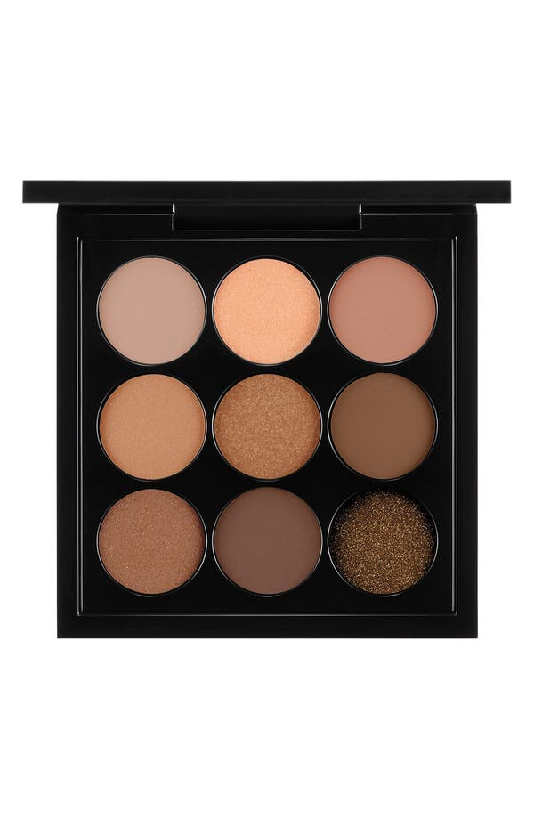 MAC Amber Times Nine Eyeshadow Palette,                             Main thumbnail 1, color,                             Amber Times Nine