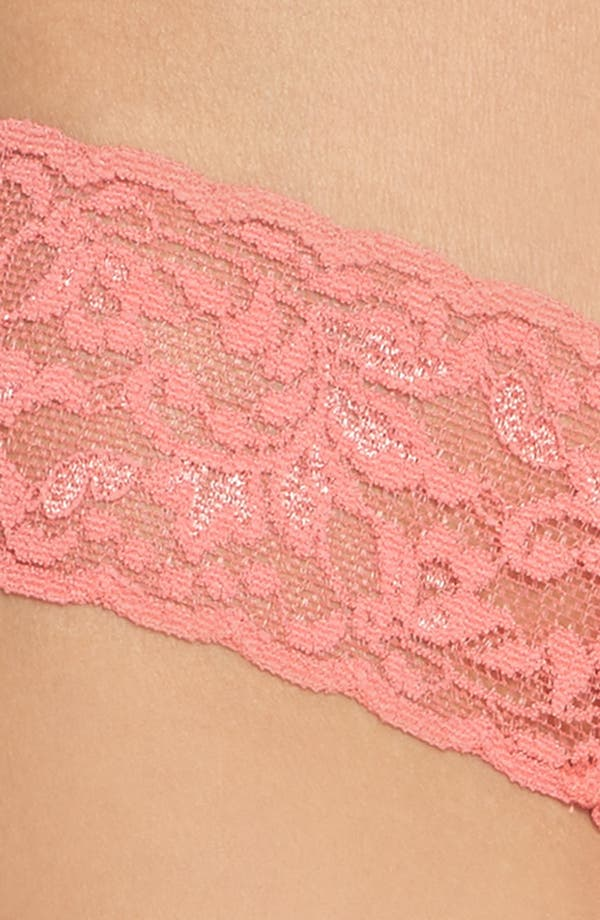 Alternate Image 5  - Hanky Panky Signature Lace Low Rise Thong