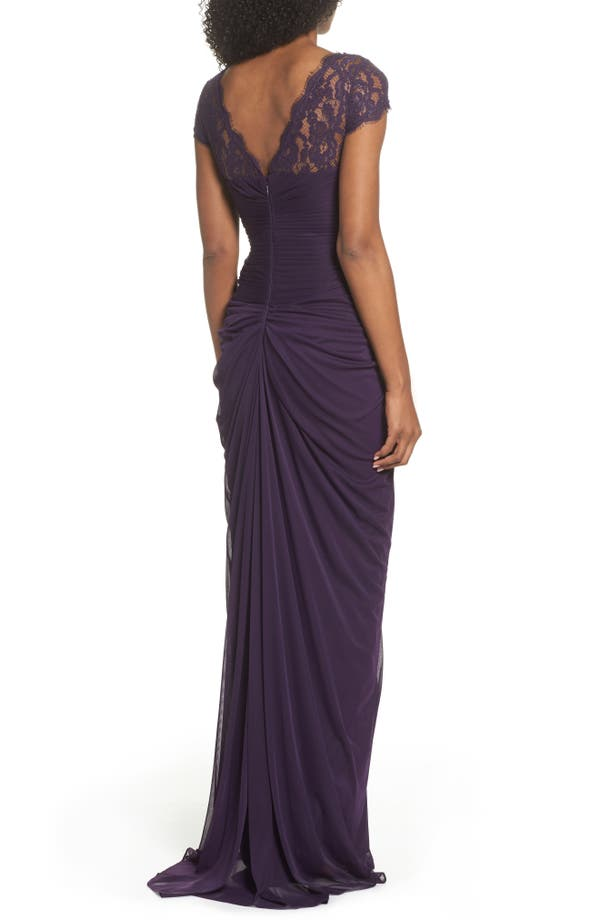 size anchor posn drape layer drapes yoke bloomingdale buy sequined tif fpx s gown lace dresses back adrianna papell