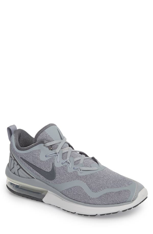 Nike Men S Air Max Fury Running Sneakers From Finish Line In Wolf Grey Dark  Grey 981f6d7a7