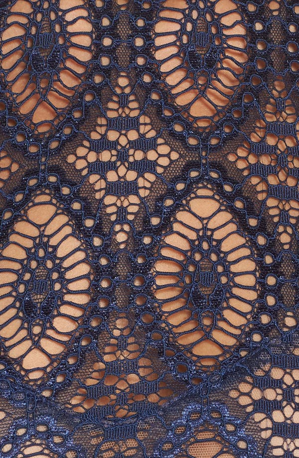 Baroque Underwire Tank Bra,                             Alternate thumbnail 9, color,                             Sapphire