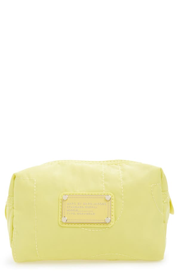 Main Image - MARC BY MARC JACOBS 'Pretty Nylon - Small' Cosmetics Bag