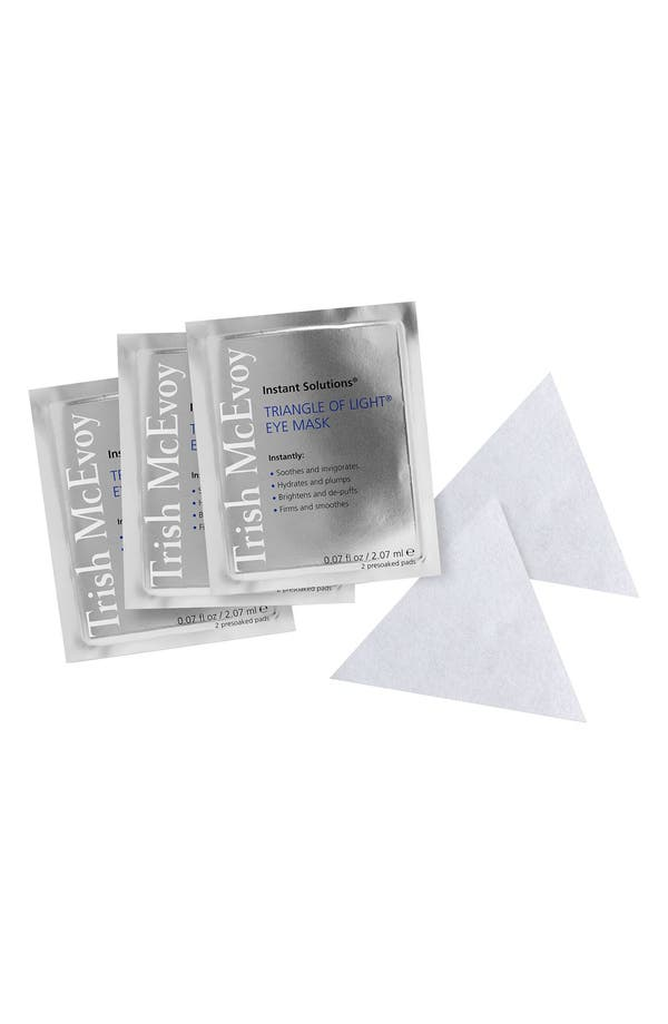 Instant Solutions<sup>®</sup> Triangle of Light<sup>®</sup> Eye Mask,                             Main thumbnail 1, color,                             No Color