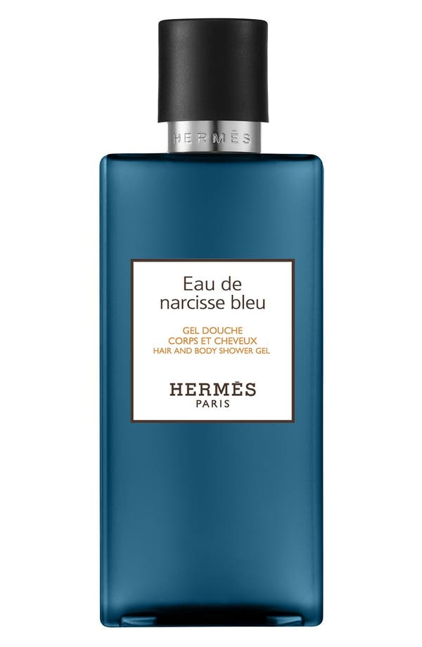 Main Image - Hermès Eau de Narcisse Bleu - Hair and body shower gel