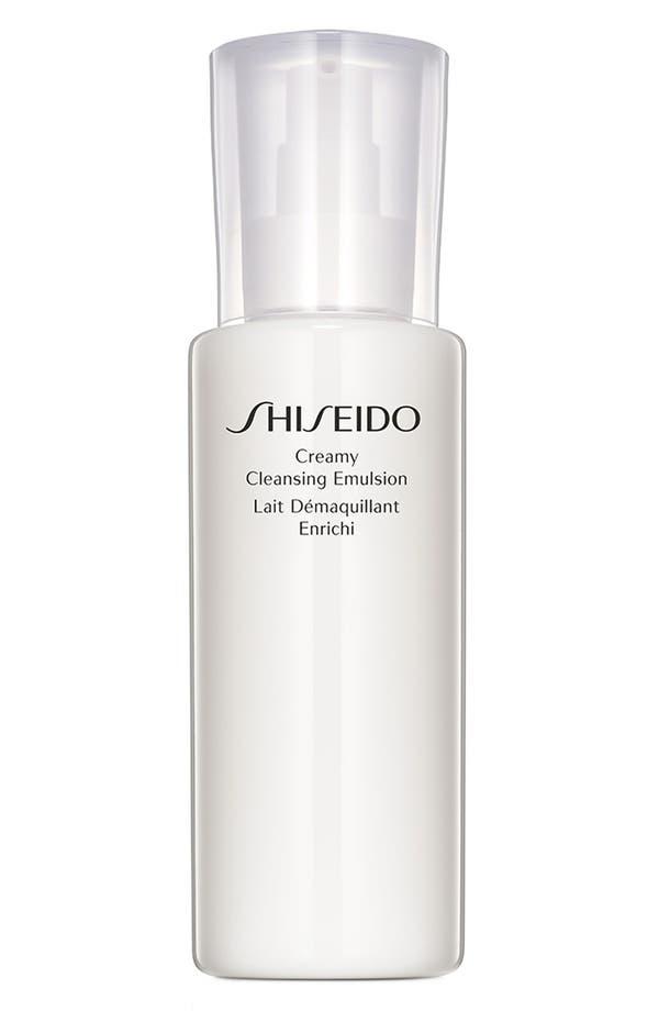 Main Image - Shiseido Creamy Cleansing Emulsion